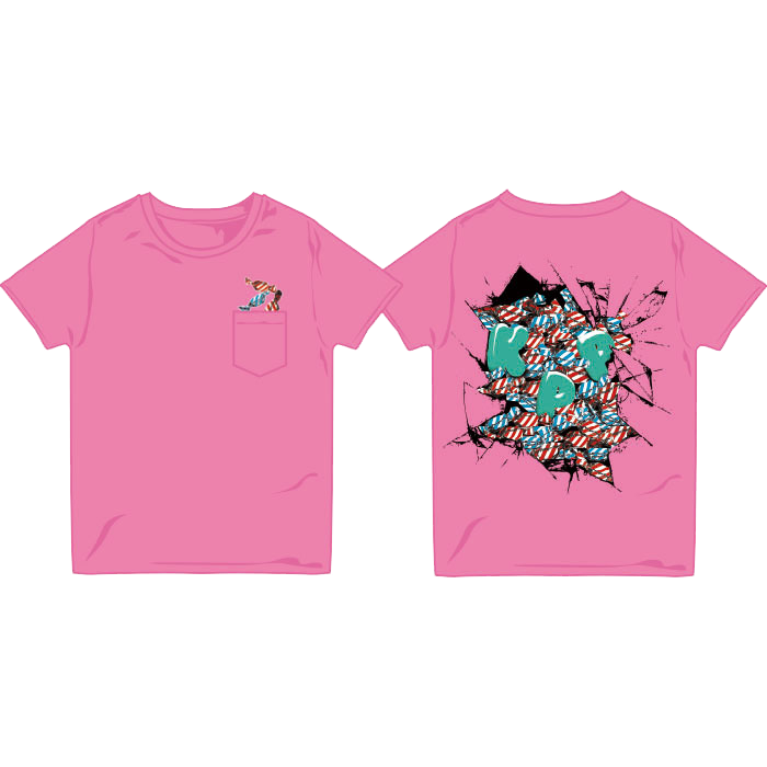 【2014 Summer】14-SU005<br>Pink Candy T-Shirts