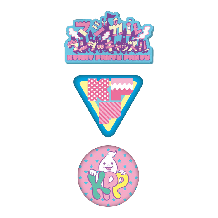 【Magical Wonder Castle】MWK-0011<br>Magical Wonder Badge Set