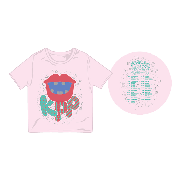 【Nanda Collection Tour】NCT-004<br>KPP Lips Kids T-shirt Pink(100、120)