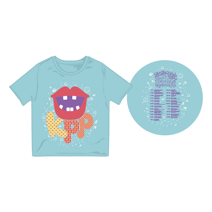 【Nanda Collection Tour】NCT-005<br>KPP Lips Kids T-shirt Blue(100、120)