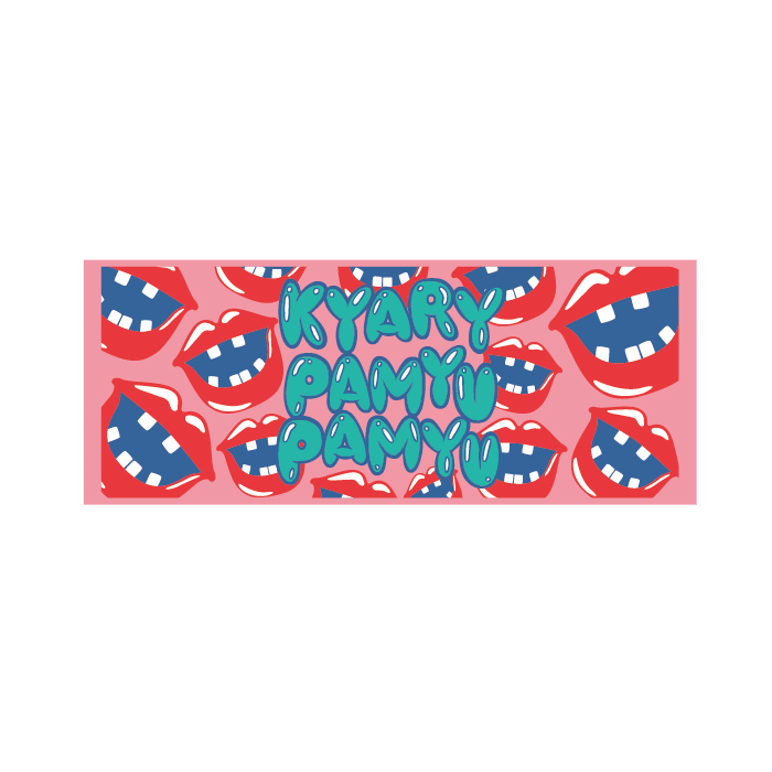 【Nanda Collection Tour】NCT-008<br>Lips Towel Pink