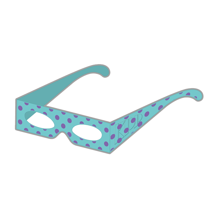 【Narikiri KPP Kids】NKK-003<br>Narikiri KPP Kids Glasses Blue