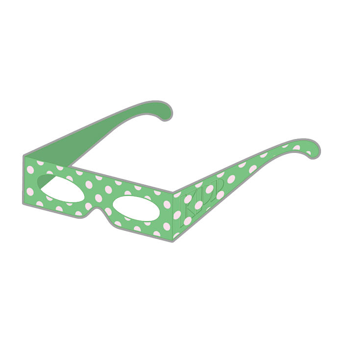 【Narikiri KPP Kids】NKK-004<br>Narikiri KPP Kids Glasses Green