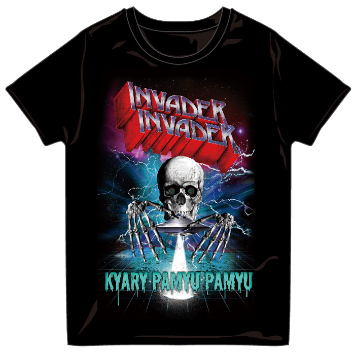 【INVADER  INVADER MERCHANDISE】INVT-001<br>METAL INVADER T-Shirts DARK GRAY(S、M、L)
