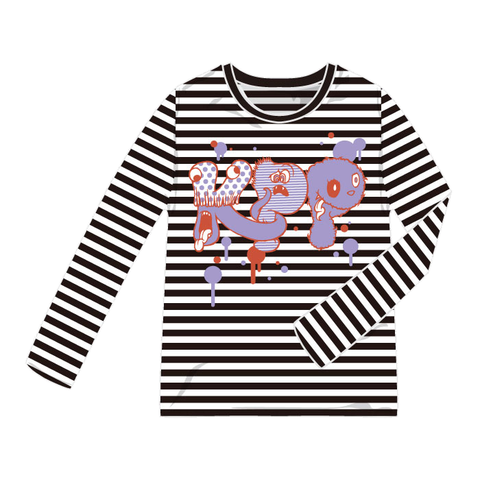 【Monster MERCHANDISE】FM-003<br>KPP Monster Long T(Mens , Ladys)