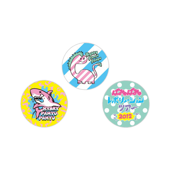 【Tour Merchandise】T12-004<br>Colorful Badge x 3 (25mm in diameter)