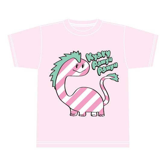 【DINO Series】KD-001<br>T-shirt PINK(XS , S , M , L)