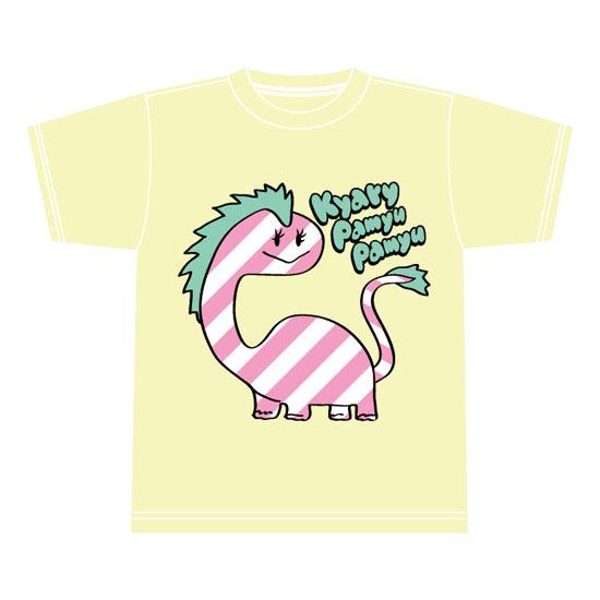 【DINO Series】KD-002<br>T-shirt YELLOW(XS , S , M , L)