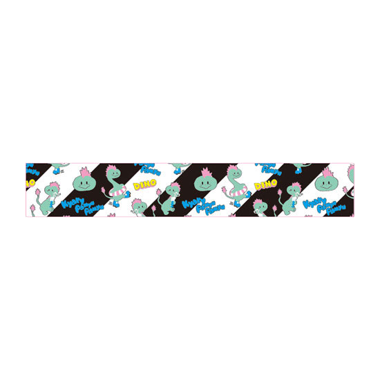 【DINO Series】KD-005<br>Towel BLACK(20×100cm)