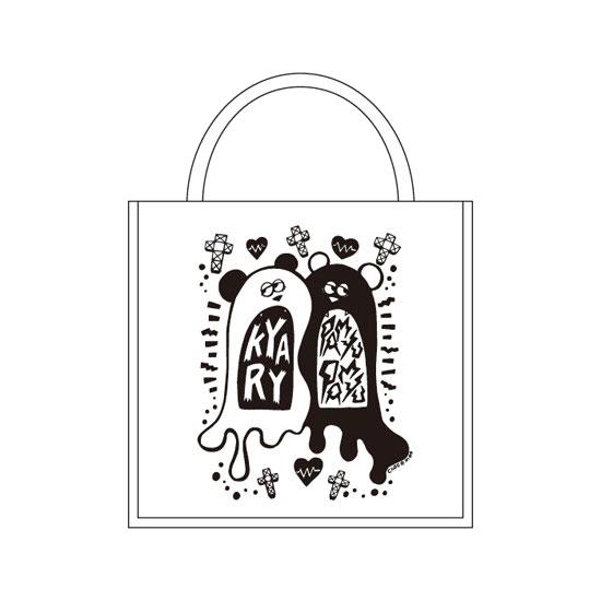 【Monochrome design】KM-003<br>Panda Tote Bag(W36×H37)