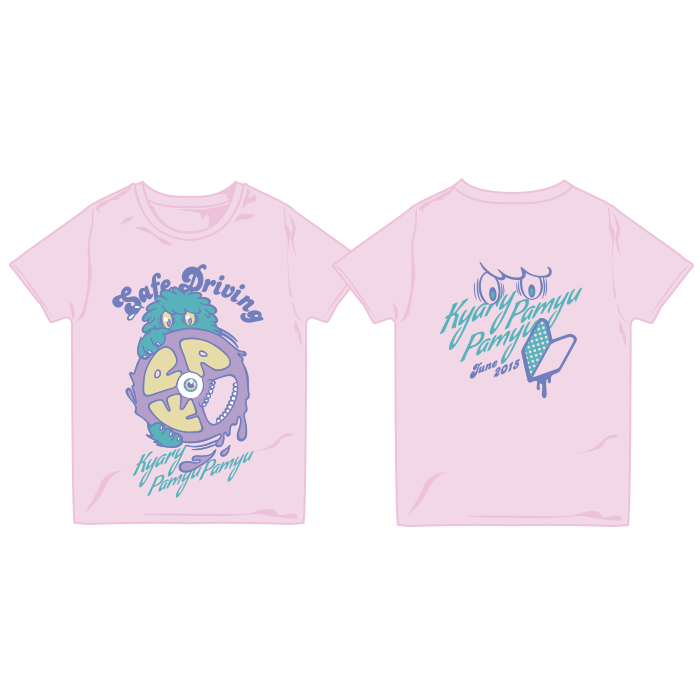 【2015 Summer】15-SU001<br>Safe Driving Tシャツ(XS、S、M、L)