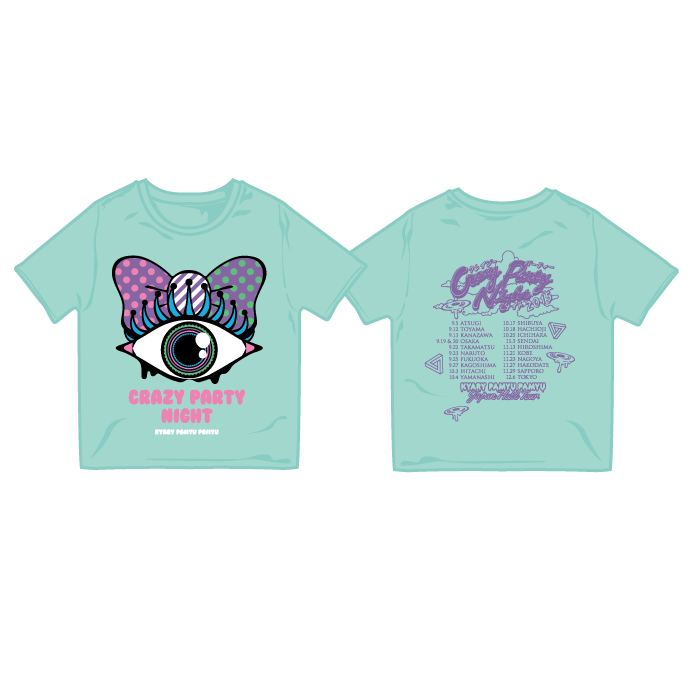 【CRAZY PARTY NIGHT】cpn-006<br>crazy party KIDS T-Shirts Blue
